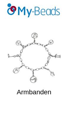 My-Beads zilveren charm  armbanden