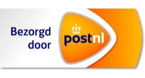 Bezorging door PostNL, gratis vanaf € 35,=