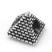 My-Beads bedel piramide zilver  Deze zilveren bedel past op alle gangbare bedelarmbanden. Edelmetaal: echt zilver, 925 (1e gehalte), nikkelvrij. Inclusief geschenkverpakking.