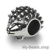 My-Beads bedel egel zilver Deze zilveren bedel past op alle gangbare bedelarmbanden. Edelmetaal: echt zilver, 925 (1e gehalte), nikkelvrij. Inclusief geschenkverpakking.