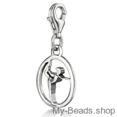 "My-Beads Charm 612 ""Gymnast on Floor"""