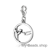 "My-Beads Charm 615 ""Gymnast with Circle"""
