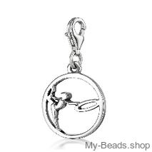 "My-Beads Charm 615 ""Gymnast with Circle"""