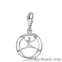 "My-Beads Charm 619 ""Wheel gymnastics""