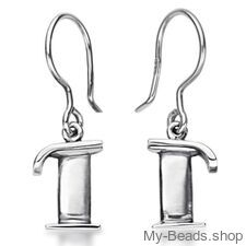 """My-Beads Sterling Silver Earrings 710 """"Pegasus"""" Size: 15 mm Material: 925 Sterling Silver Including a gift box V.A.T. included Perfect sport jewelry gift for a gymnast. #MyBeadsSport #Gymnastics #Gymnast #Sportgift"""