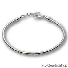 My-Beads bracelet  Length: 21 cm   Clasp: Lobster  Country of Origin: Germany  Materials: 925 Sterling Silver Made in Germany high quality. Including a gift box This item is sold online only. V.A.T. included #MyBeadsSport #Necklace #SterlingSilver #925SterlingSilver