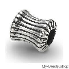 My-Beads 018 Fantasie.   Deze zilveren bedel past op alle gangbare bedelarmbanden.  Edelmetaal: echt zilver, 925 (1e gehalte), nikkelvrij.