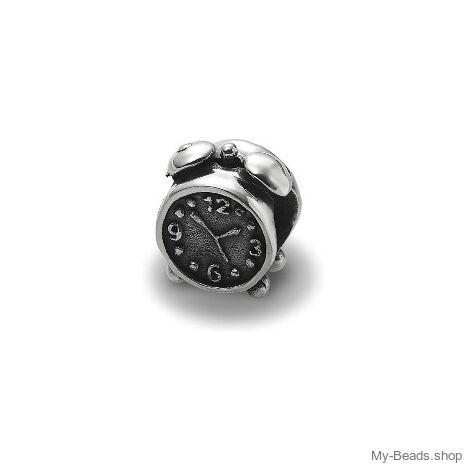 My-Beads 012 Wecker Material: 925er Sterling Silber.  Artikel kommt mit Geschenkverpackung.  Preise inkl. MwSt.