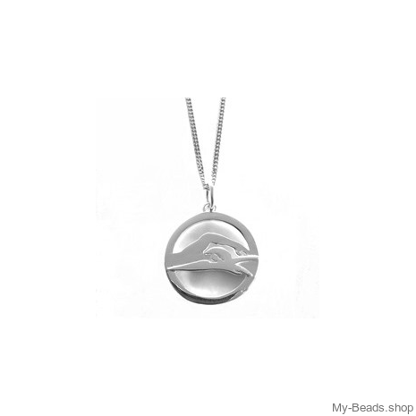 "My-Beads Sterling Silver pendant 480 ""Freestyle Swimming / Front Crawl"""