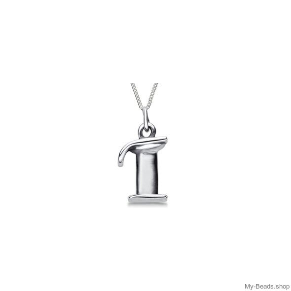 """My-Beads Sterling Silver pendant 435 """"Pegasus"""" Size: 15 mm Material: 925 Sterling Silver Including a gift box 21% V.A.T. included Perfect sport jewelry gift for a gymnast."""
